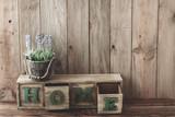 Fototapety Wooden home decor