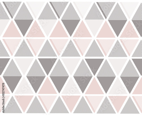 Vector abstract triangles stripes