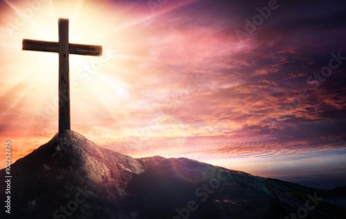 Zdjęcia na płótnie, fototapety, obrazy : Mystery Of The Crucifix - Symbol Of Faith