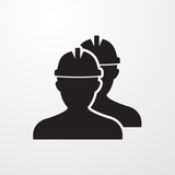 Workers icon for web and mobile.
