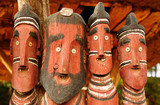 African sculpture, totems