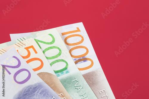 Poster New Swedish Money