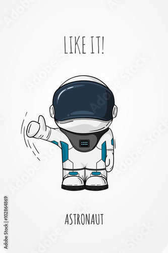 space astronauts thumbs up - photo #38