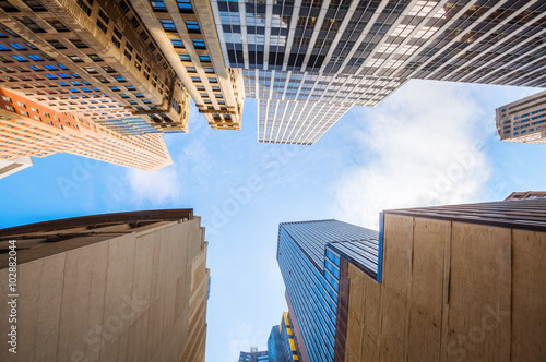 Hochhäuser in Manhattan, New York City