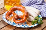 Weißwurst, Brezn und ein Helles