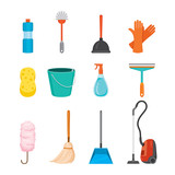 Cleaning, Home Appliances Icons Set, Housework, Appliance, Domestic Tools, Computer Icon, Cleaning, Symbol, Icon Set, Spring Season