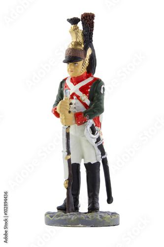 Poster Сержант 25-го драгунского полка в походной форме, 1810 год