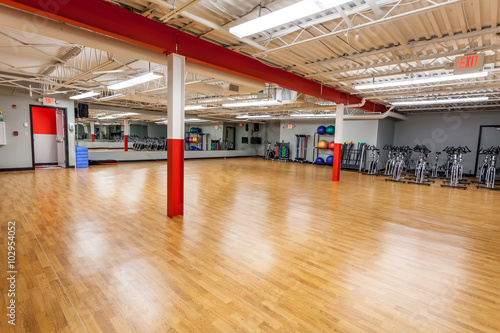 Quot empty gym workout room stock photo and royalty free