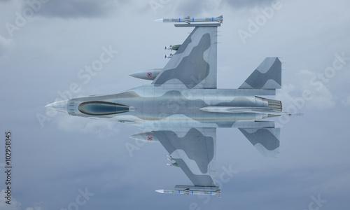 jet-f-16-latac-po-niebie-amerykanski-wojskowy-mysliwiec