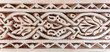 Stone carved filigree
