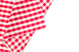 Fototapety checkered tablecloth