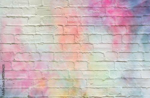 Tijolos coloridos - 103044628