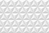 3D geometric triangular texture