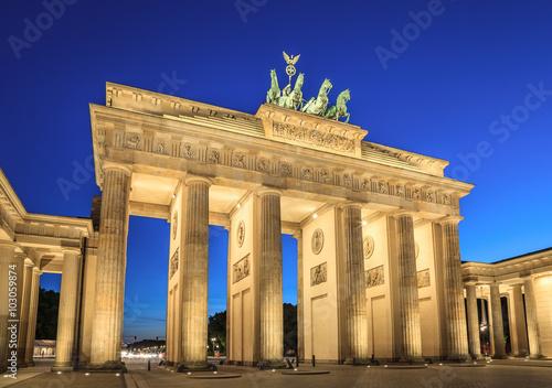 Naklejka Brandenburg Gate , Berlin , Germany