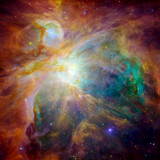 Fototapety Hubble panoramic view of Orion Nebula reveals thousands of stars