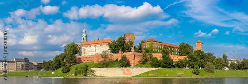 obraz PCV Wawel castle in Kracow