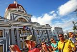 Cuba, Cienfuegos, Parque Martí