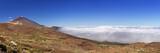 Mount Teide peak on Tenerife above the clouds