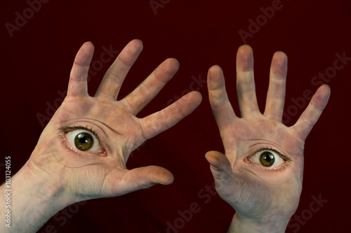 Eyes on Hands Monster