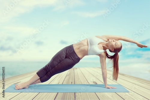 Poster Yoga.