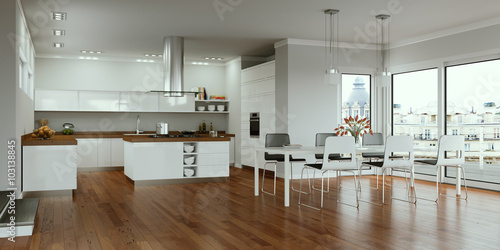 moderne Wohnküche © virtua73