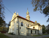 Church of Immaculate Conception of Virgin Mary in Busko-Zdroj. Poland - 103156097