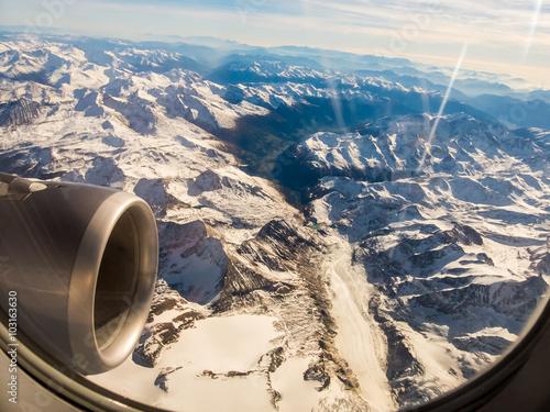 Fototapeta Die Alpen in Österreich