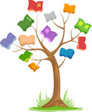 Tree Books Branches
