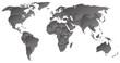 Weltkarte mit einzelnen Ländern
