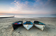 Boats on Bournemouth Beach