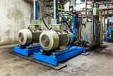 Motor in steel plant - 103244045