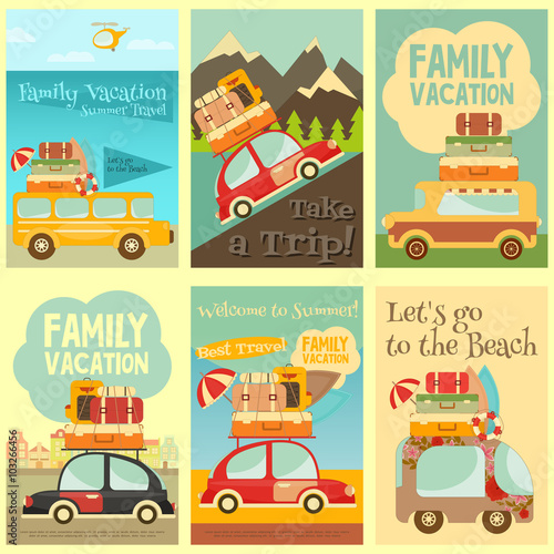 Zestaw kart podróżnych
