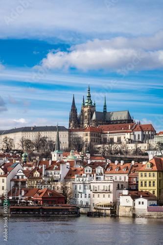 Poster Blick auf Prag