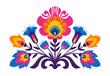 Polish folk inspired flowers