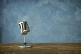 Fototapety Retro style microphone