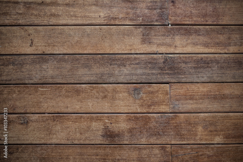Brown Wooden Background - 103347233