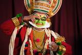 Fototapety Kathakali performance in Kerala, India