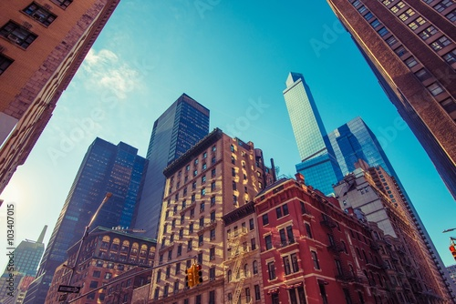 Foto op Aluminium New York New York City Square