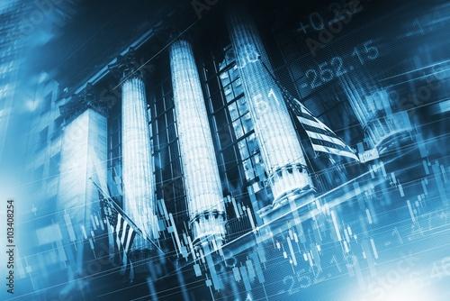 Zdjęcia na płótnie, fototapety, obrazy : Stock Market Concept