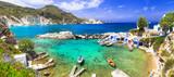 Milos - traditional village Mandrakia , beautiful islands of Greece - 103458289