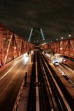 Three transport paths at Wiliamsbourg Bridge, NYC