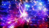 Light Swarm 0324: A cascade of shimmering, sparkling lights (Loop).