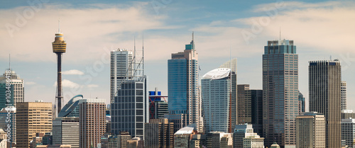 Staande foto Sydney Panoramic view at Sydney city urban skyline
