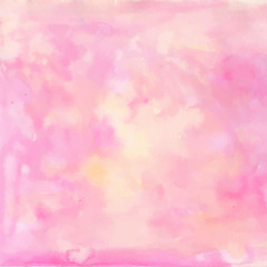 Light pink watercolor background