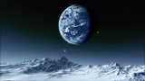Fototapety Moon Elements of this image furnished by NASA