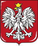 Fototapety Coat of arms of Poland