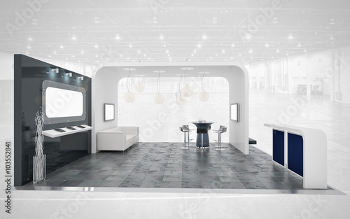 Exhibition Stand White : Black and white exhibition stand buy photos ap images detailview