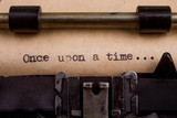 typed words on a Vintage Typewriter - 103573204