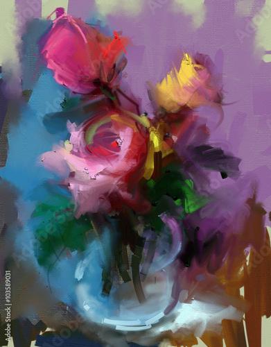 Roses. Still life - 103589031