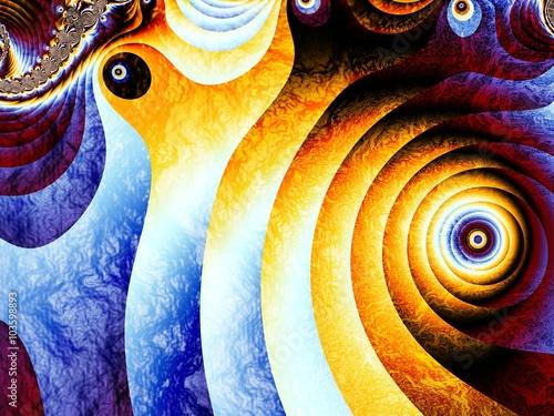 Obraz Fractal artwork for creative design.